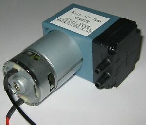12-V-DC-Single-Diaphragm-Head-Pressure-Vacuum-Pump-10-L-min-29-PSI-max