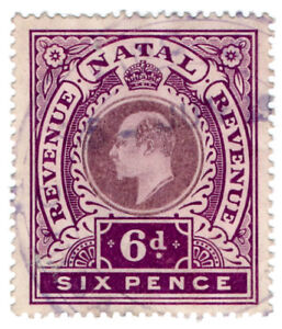 I-B-Natal-Revenue-Duty-Stamp-6d-1910