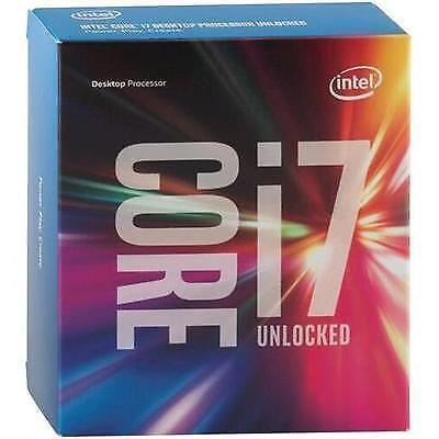 Intel Core i7-6700K 4.00 GHz 8M Processor Cache 4 LGA 1151 BX80662I76700K