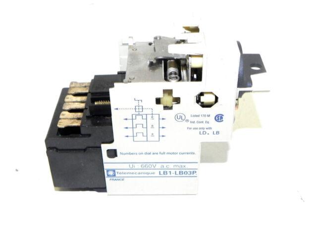TELLEMECANIQUE LB1LB03P04 PROTECTION MODULE
