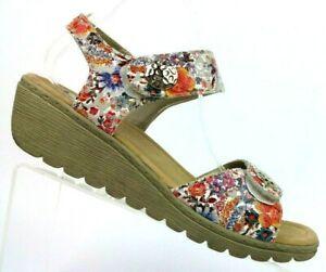 Spring-Step-Luisella-Floral-Ankle-Strap-Platform-Wedge-Sandals-Women-9-5-10-41