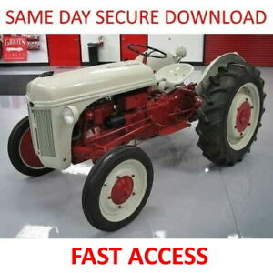 1939-1953-FORD-2N-8N-9N-Tractor-Service-Manual-FAST-ACCESS