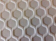 Fabricut White Geometric Matelasse Upholstery Fabric-Toomey/Frost (2981601) 8 yd