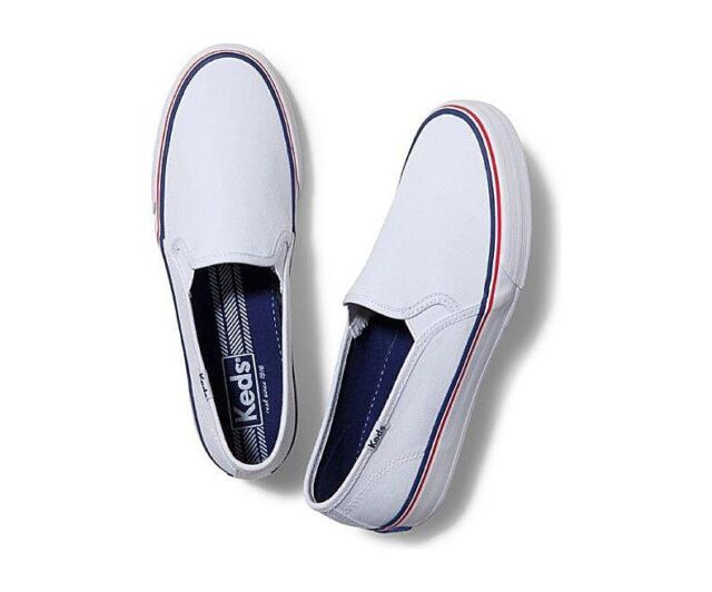 a24358169 Keds Champion Double Decker Women Canvas Tennis Shoes Sneakers Slip On  WF52572 for sale online