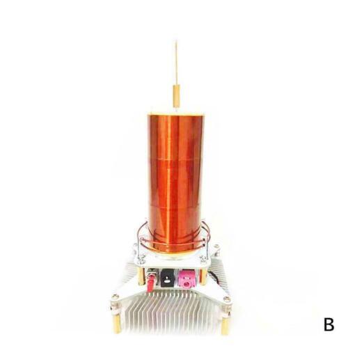 Mini Music Tesla Coil Plasma Speaker Wireless Transmission Power Sound Z6F3