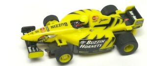 TYCO-440-X2-Slot-Car-BUZZIN-HORNETS-8-Formula-World-Tour-Honda-Jordan-F1-Indy