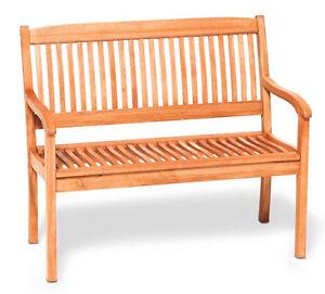 2.Sitzer Gartenbank Holzbank Sitzbank Eukalyptusholz Gartenbank Holzbank Sitzban