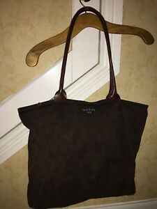 6b6da5a64be8 BOHO CHOCOLATE SUEDE SHEEPSKIN LARGE SHOULDER BAG ORLA KIELY LEATHER ...