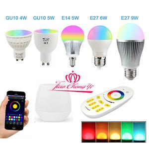 RGBW-W-WW-E27-GU10-MR16-LED-Light-Dimmable-RGB-Bulb-Lamp-2-4G-Wireless-Milight