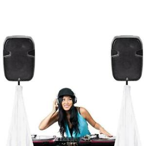 PYLE DJ Speaker / Light Stand Scrim for Tripod Stands, 2 Sided in White or Black Toronto (GTA) Preview