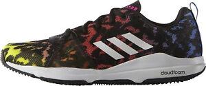 adidas-Arianna-Cloudfoam-Womens-Training-Shoes-Black-Cushioned-Gym-Trainers