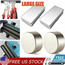 Huge Magnets Super Strong N52 Neodymium Large Round Block Magnet Max 4050mm