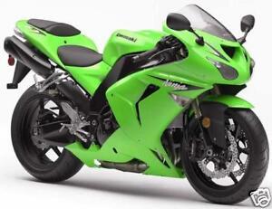 Kawasaki Ninja Bright Green