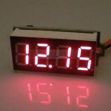 """DC 0-33V Red 0.36"""" LED 4 Digit Digital Voltmeter Voltage Panel Meter"""