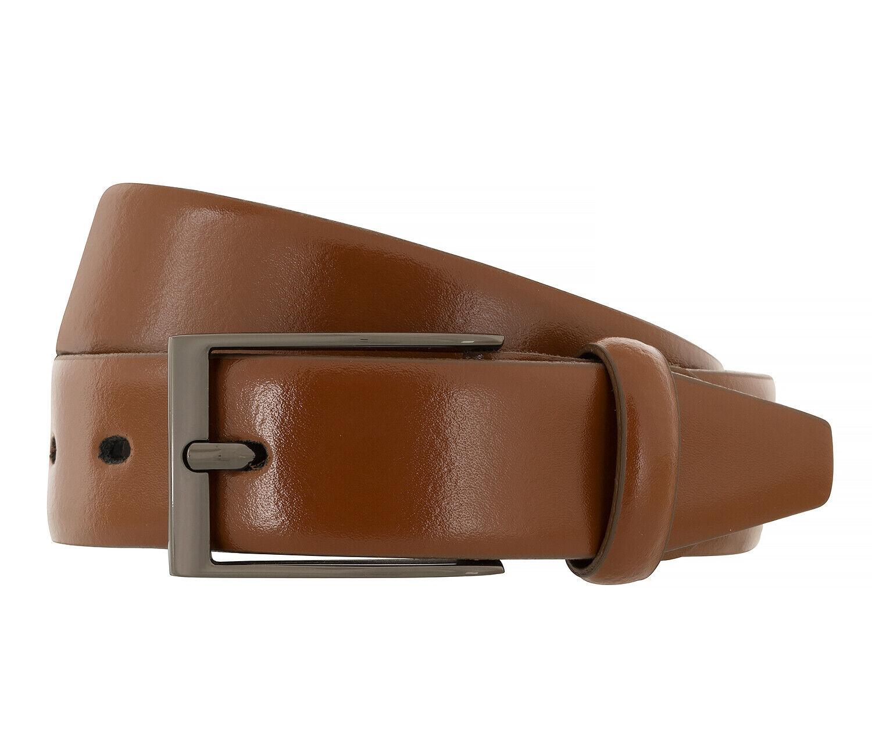 LLOYD Men's Belts Gürtel Herrengürtel Ledergürtel Cognac 6584