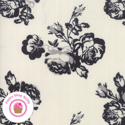 Taupe Cream Country Cottage Primitive Floral Calico Cotton Quilt Gate Fabric
