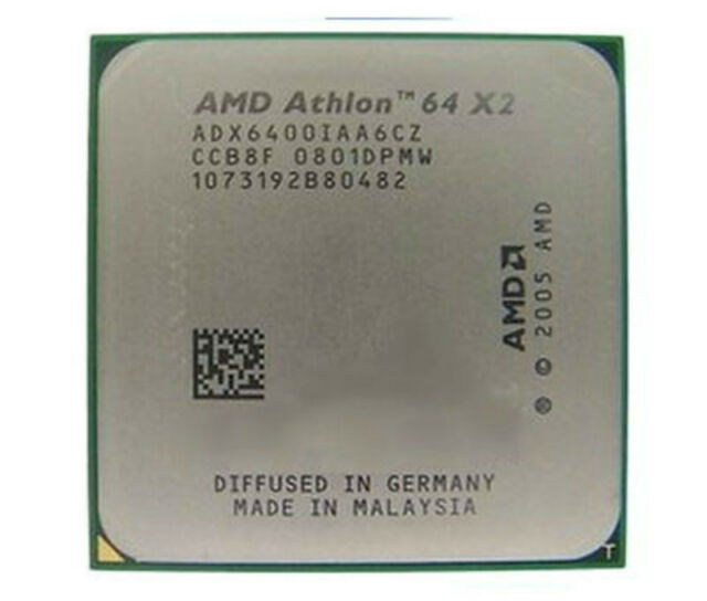AMD CPU Athlon 64x2 6400 3.2GHz/2MB ADX6400IAA6CZ
