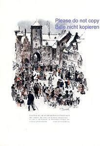 Fastnacht-in-Villingen-XL-Kunstdruck-1931-Richard-Duschek-Karveval-Fasching