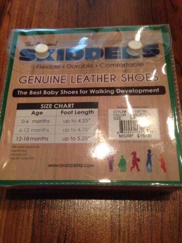 NEW Baby Infant Toddler Boy Skidders Shoes Dinosaur  0-6 6-12 12-18 months
