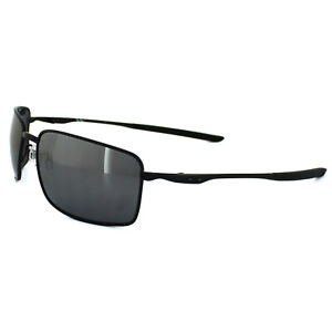 86560e2001 Oakley Sunglasses Square Wire OO4075-05 Matt Black Black Iridium ...