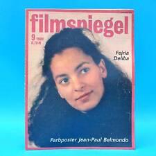 DDR Filmspiegel 9/1989 Otto Waalkes Jean-Paul Belmondo Bernard Blier U Kokisch A