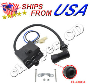 Ignition Coil CDI 50cc 60cc 80cc High Performance for 2-Stroke Motorized Bicycle
