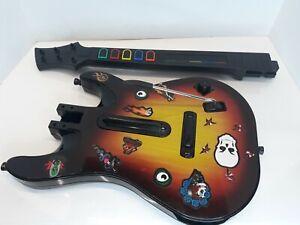 Guitar Hero Red Octane Sunburst Wireless Controller PS2 95449.805 Untested