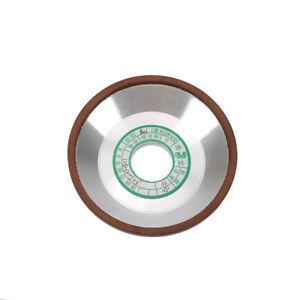 "4/"" 100mm Bowl Shape Diamond Grinding Wheel Abrasive Cup Disc for Carbide Alloy"