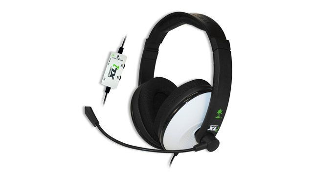 Turtle Beach Ear Force XL1 Black Headband Headsets for Microsoft Xbox 360