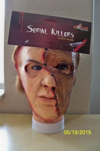 ADLT SERIAL KILLER 31 CREEPY SCARY CRAZY INSANE LATEX FACE MASK COSTUME TB25531