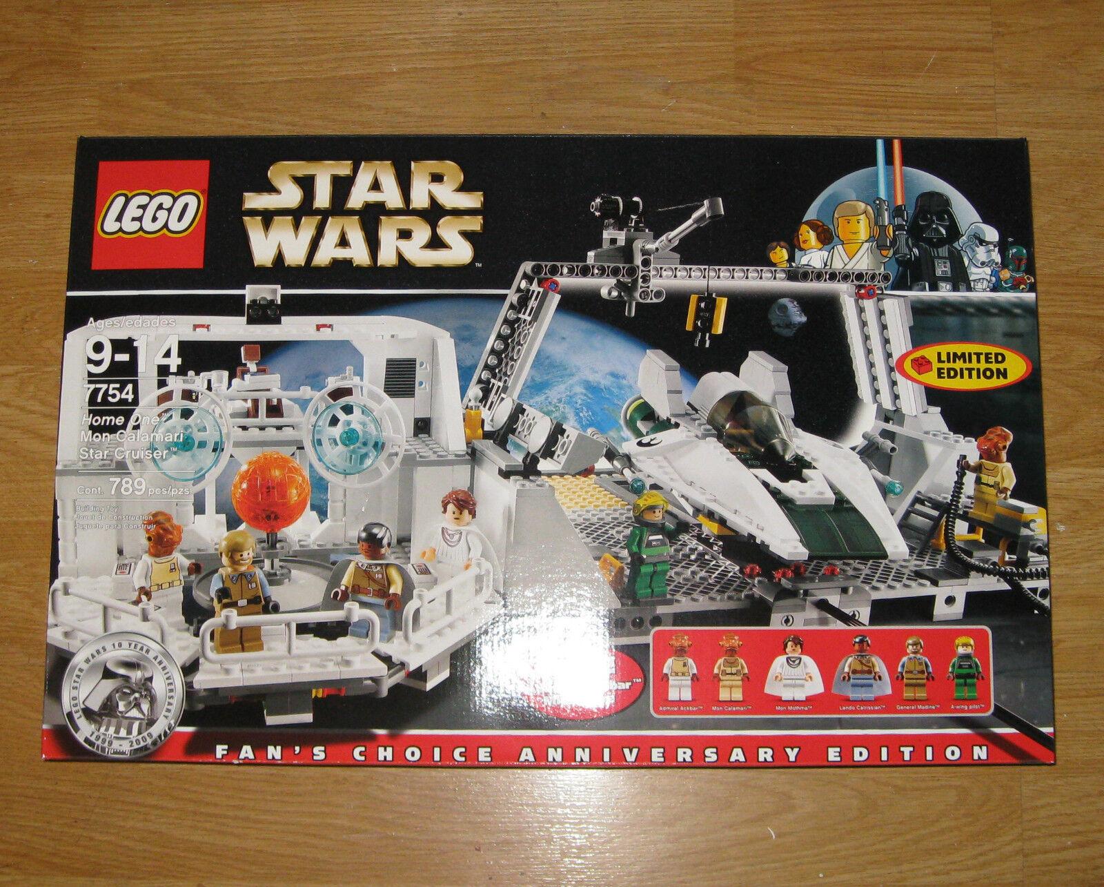 LEGO Star Wars 7754 casa una Mon Calamari Star crucero Marca Nuevo Sellado
