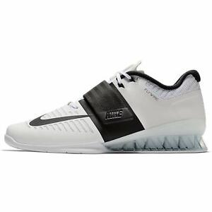 30ac699a67 Image is loading Nike-Romaleos-3-Mens-Weightlifting-Training-Shoes-White-