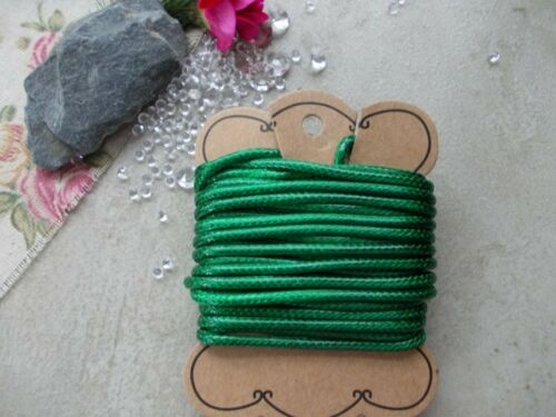 5 Mtrs x Jewellery Cord 3mm Thick Waxed Braided String Necklace,Bracelet Making
