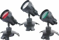 3 Submersible Pond 1W LED Lights with 3 Colors