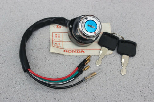 HONDA TL125 73-76 CJ250 MAIN IGNITION ON OFF SWITCH KEY 4 WIRE REPLACEMENT NEW