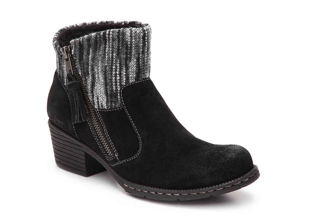 NEW BORN B.O.C BLACK CHARON ANKLE BOOTIES BOOTS Damenschuhe 8 SUEDE
