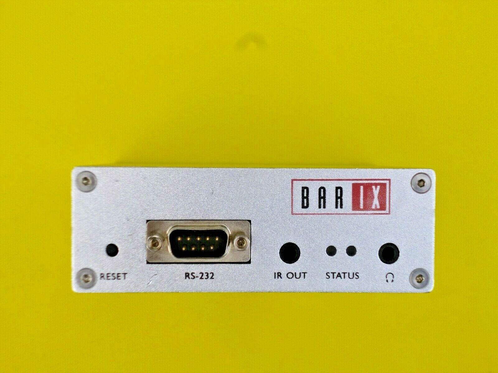 Barix Instreamer 100 - Network Audio Encoder - Refurbished Latest Firmware