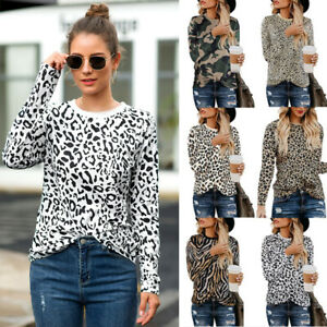 Fashion-Women-Long-Sleeve-Zebra-Pullover-Sweater-Shirts-Casual-Blouse-Jumper-Top