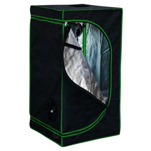 Growbox 40x40x120cm Indoor Serre pflanzenzelt GrowRoom Growschrank