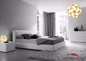 Set luci camera da letto Lampadario Design originale 35 cm + 2 abat ...