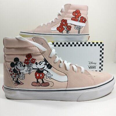 Womens Vans x Disney Sk8-Hi Mickey