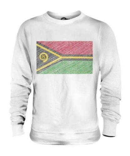 nepalese regalo unisex Vanuatuan Flag in Maglione Vanuata Scarabocchiato 5tXnw0qtv
