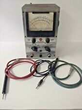 Vintage Rca Voltohmyst 195 A Electronic Voltmeter Ohm Meter With Probes And Ground