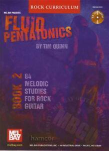 Expressif Fluide Pentatonics Book 2 Mélodique Studies For Rock Guitar Tab Book/cd-afficher Le Titre D'origine Emballage Fort