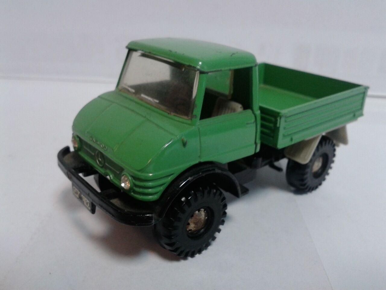 Marklin 1830 Mercedes UNIMOG light green 1970 1 43 near mint no box