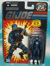 G I GI JOE 25TH ANNIVERSARY COBRA SOLDIER ENEMY TROOPER ARMY BUILDER FIGURE MOC