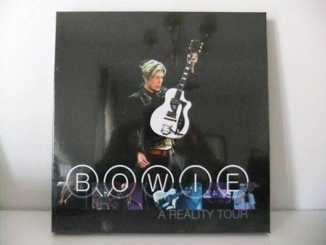 DAVID BOWIE A REALITY TOUR LIVE TRIPLO LP VINILI BLU 180 GR. NUOVO SIGILLATO!
