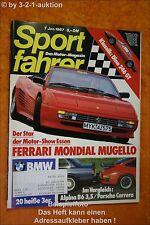 Sportfahrer 1/87 Alpina B6 Porsche Carrera Ferrari Mond