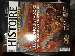 25$$ Revue Le Monde Histoire & Civilisations N°51 Notre Dame Paris / Mycenes ...