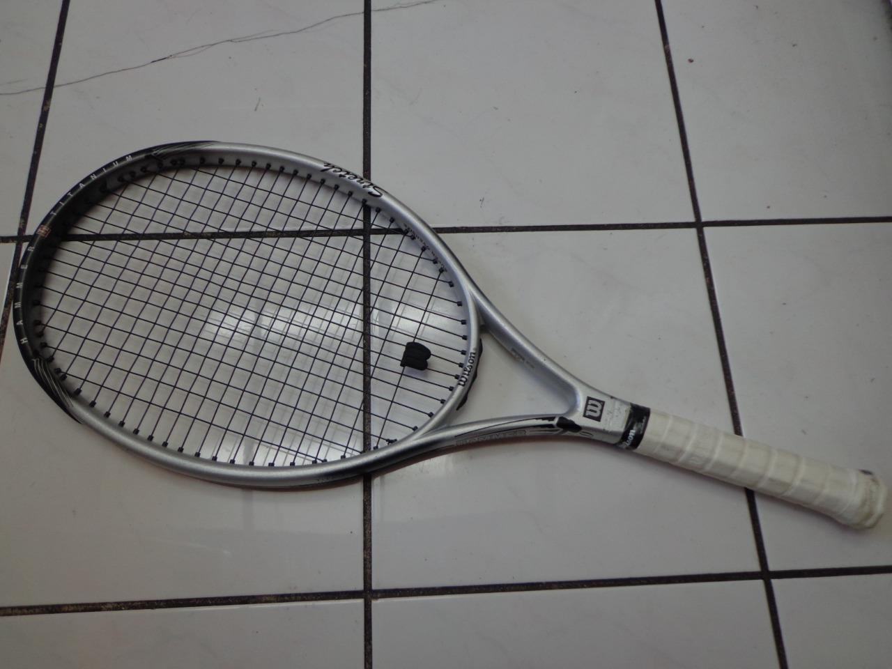 Wilson Wilson Wilson Hammer 3.0 Stretch TI. 118 head 4 3/8 grip Tennis Racquet 98464b